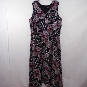 Vince Camuto Marrakesh Tapestry Print Maxi Dress